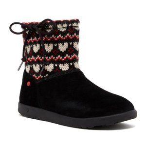 UGG I Heart Slouchy Mini Fair Isle Girls Boots